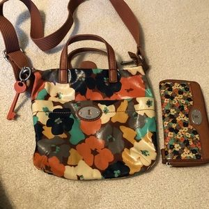 Purse and wallet combo